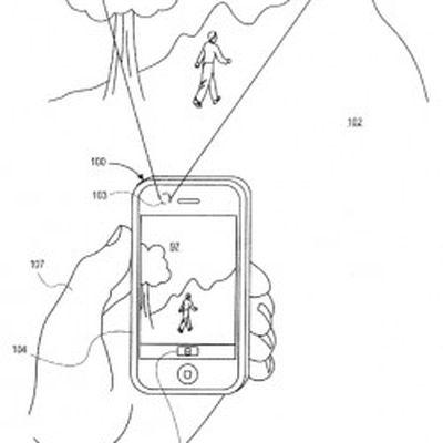 iphone camera view patent