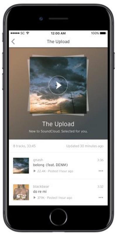 soundcloud the upload