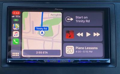 pioneer carplay dashboard