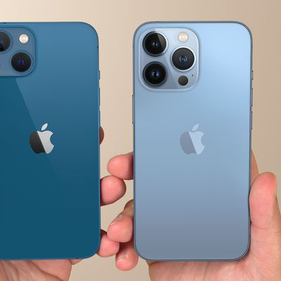 iPhone 13 and 13 Pro Feature Gold