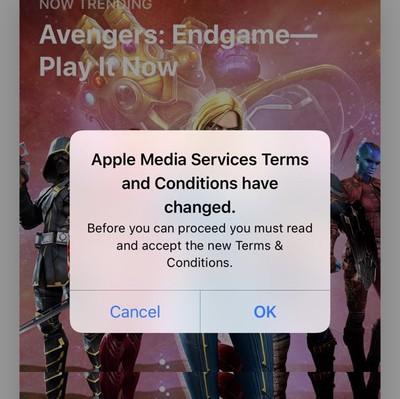 apple tcs endless loop