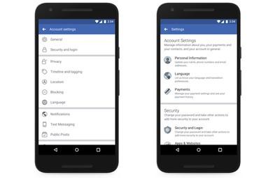 facebook privacy update 2