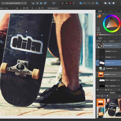 affinity designer contour tool