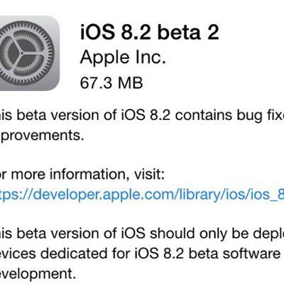ios 8 2 beta 2