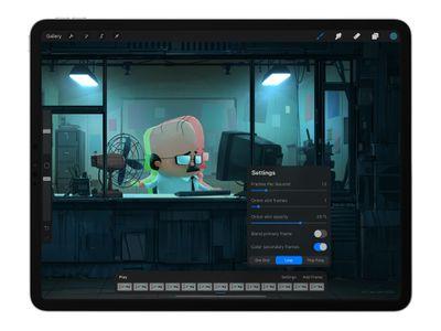 procreate 5 animation assist