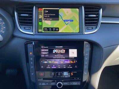 infiniti qx50 carplay maps