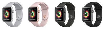 apple watch s3 aluminum