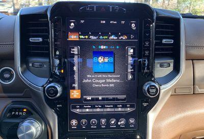 ram 1500 full screen radio