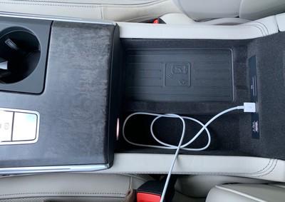 audi a7 console compartment