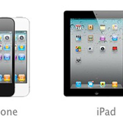 iphone 4 ipad 2 black white