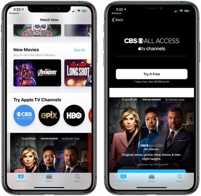 cbsallaccessappletvchannels