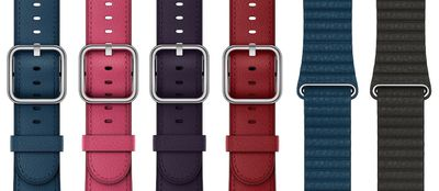 apple watch leather bands fall 2017