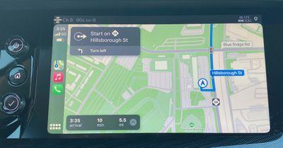 buick envision 2021 carplay maps
