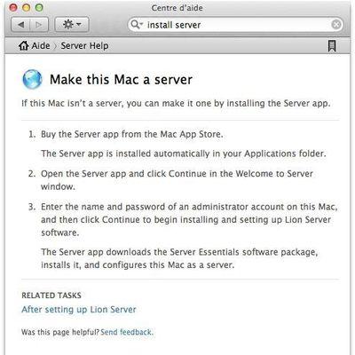 lion server help file