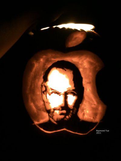 Steve Jobs Pumpkin