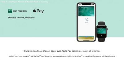 apple pay france bnp paribas