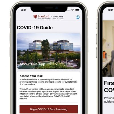 stanford first responders app