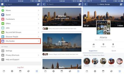 facebook city guides