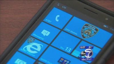 NYPD windows phone