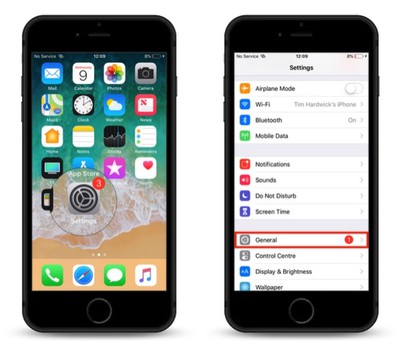 how to create a virtual home button with assistive touch 1