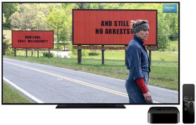 three billboards 4k itunes sale