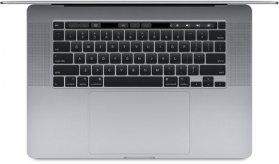 16 inch macbook pro top down