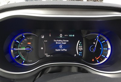 pacifica driver display