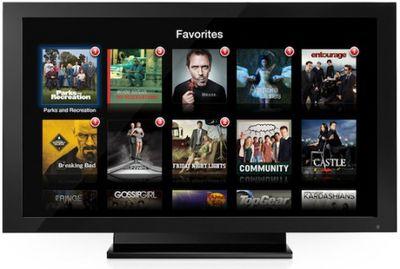 apple tv favorite tv shows