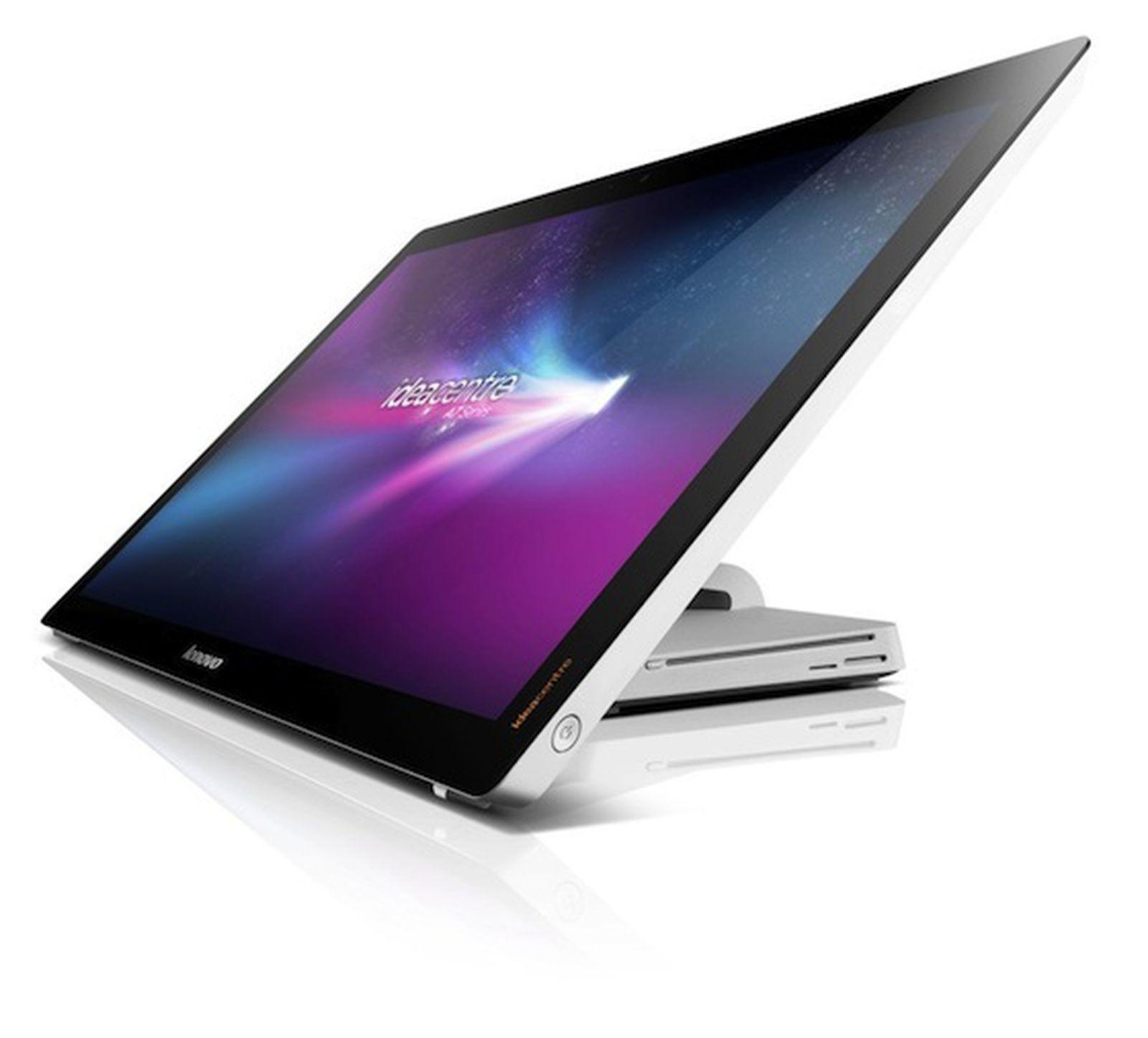 CES 2012: Lenovo Brings Apple's Touchscreen iMac Concept ...
