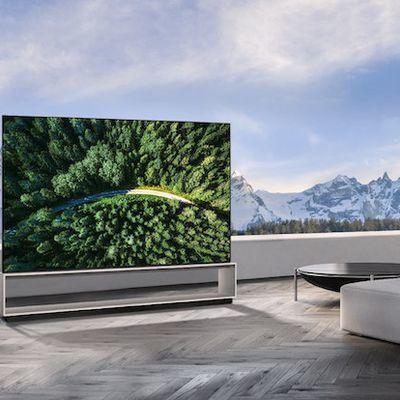 lg 88 inch 8k oled tv airplay homekit