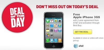 best buy free iphone 3gs