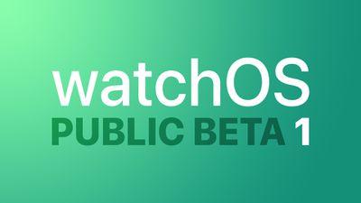watchOS Public Bet 1 Feature 1