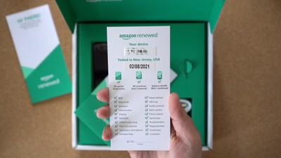 amazon refurbished iphone checklist
