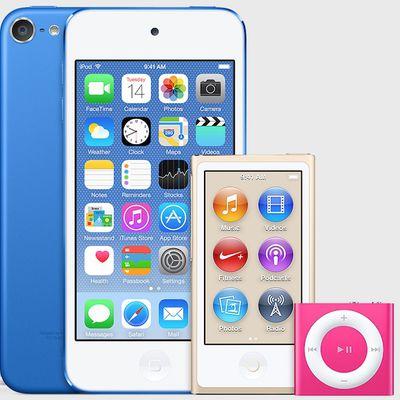 ipod new colors