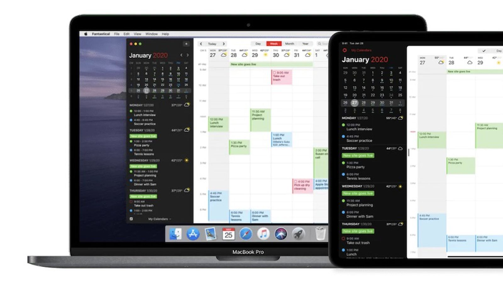 Fantastical Updated for macOS Big Sur With New Design Widgets Native Support for Apple Silicon and… – MacRumors
