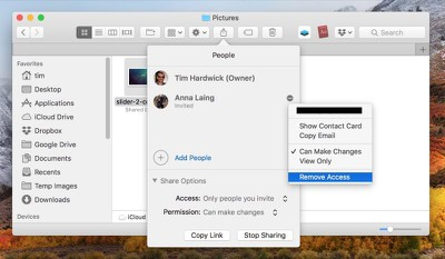 how to share icloud files on mac05