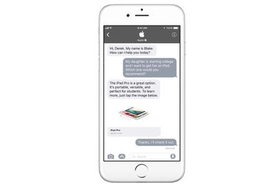 apple business chatshadowfix