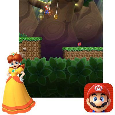 super mario run princess daisy