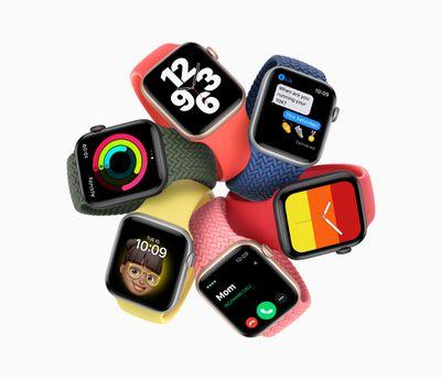 Apple announces watch se 09152020
