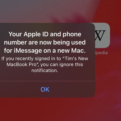 apple id being used another device facetime imessage