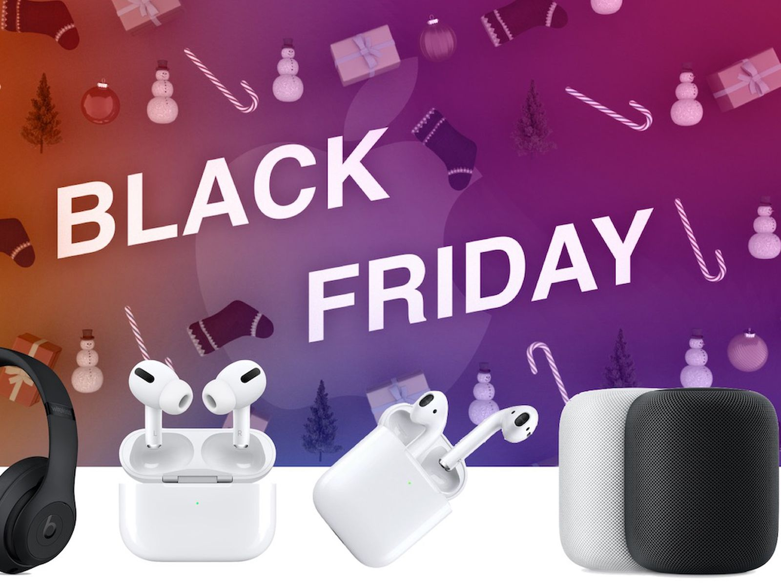 Black Friday 2019 Best Deals On Airpods Homepod Beats And Other Audio Devices Macrumors