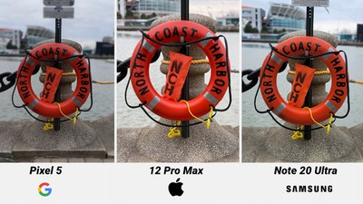 iphone 12 pro max day portrait comparison