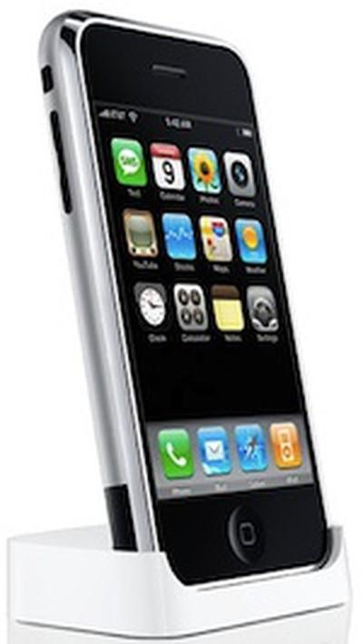 131931 original iphone in dock