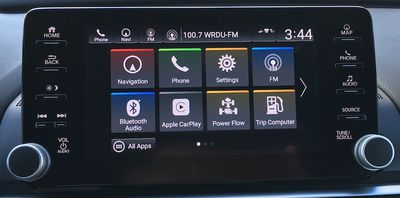 accord hybrid display audio
