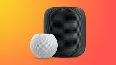 HomePodandMini function orange