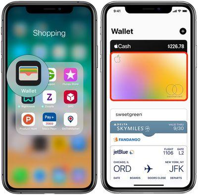 wallet app apple card