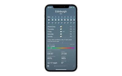 AQI weather app