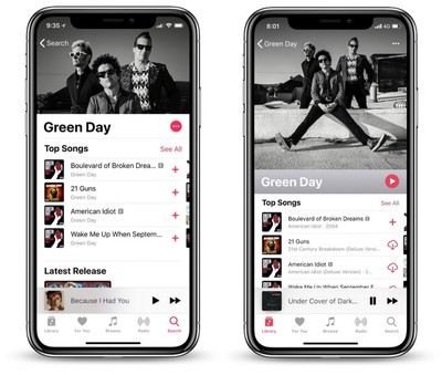 apple music ios 12 beta 3