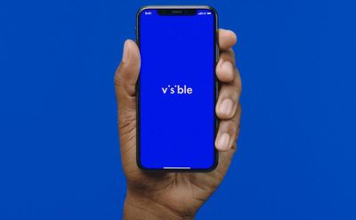 visible iphone