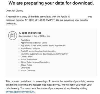 applepreparingdatafordownload
